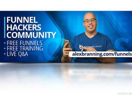 #57 for Facebook Group Cover Photo for Funnel Hackers Community by oobqoo