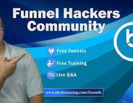 #60 for Facebook Group Cover Photo for Funnel Hackers Community by SifatSabbir