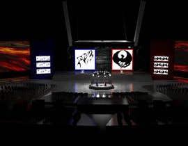 nº 25 pour Design a Digital Visually Immersive Stage for an eSports Auditorium par PedroLuger