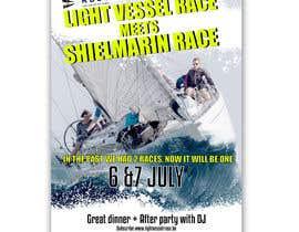 Nro 19 kilpailuun Create a boat race poster käyttäjältä naveen14198600