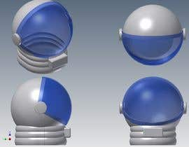 nº 4 pour Plastic Astronaut helmet with visor with 3D printable file in STL format par meongwae