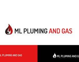Nro 14 kilpailuun company logo design for ML PLUMING AND GAS käyttäjältä scoutbd