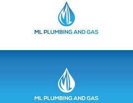 Nro 461 kilpailuun company logo design for ML PLUMING AND GAS käyttäjältä hasanurrahmanak7