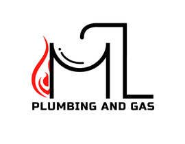 Nro 39 kilpailuun company logo design for ML PLUMING AND GAS käyttäjältä spandit364