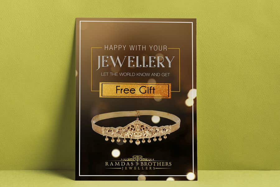 Kilpailutyö #29 kilpailussa A4 and A3 size Advertisement for a Jewelry Store -- 2