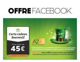 Nro 2 kilpailuun Création d'une offre facebook pour la Saint Patrick käyttäjältä Reffas