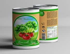 "#22 pentru I need a logo for a 2D artist. It must be a soup can with a ""Broccoli Soup"" title. de către danieledeplano"