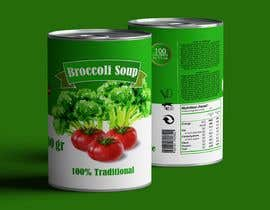 "#30 pentru I need a logo for a 2D artist. It must be a soup can with a ""Broccoli Soup"" title. de către danieledeplano"