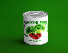 "#37 pentru I need a logo for a 2D artist. It must be a soup can with a ""Broccoli Soup"" title. de către danieledeplano"
