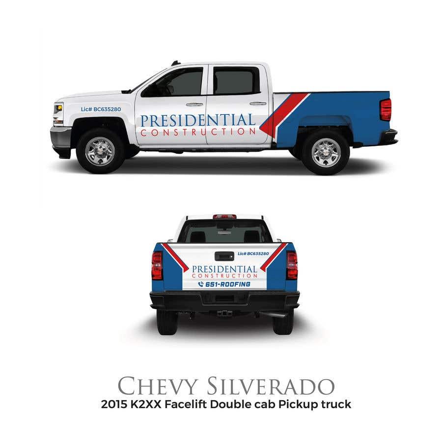 Proposition n°111 du concours Professional Business Vehicle Wrap ($625.00)