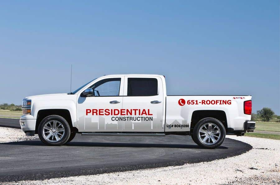 Proposition n°49 du concours Professional Business Vehicle Wrap ($625.00)