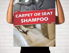 """#17 untuk Sign/Poster for """"Carpet or Seat Shampoo"""" oleh darbarg"""