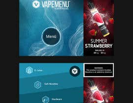 #62 для Vapemenu Tablet App Redesign Contest от happyweekend