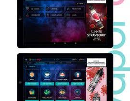 #47 для Vapemenu Tablet App Redesign Contest от astradesigns22
