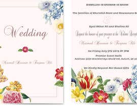 #60 for Need a Wedding Invitation Card by AmanSaeed2629