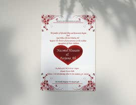 #54 for Need a Wedding Invitation Card by nicesusomaakter