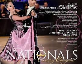 amarnathbera68 tarafından 2019 USA Dance National Dancesport Championship Web Page için no 50
