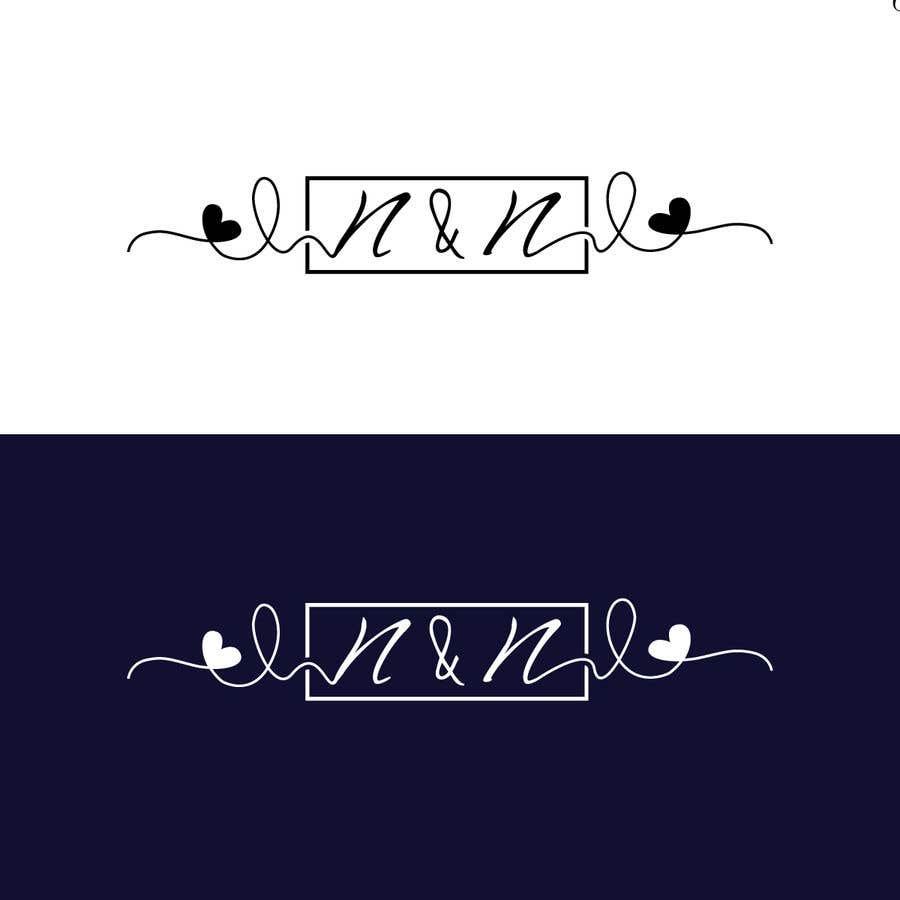 Kilpailutyö #206 kilpailussa Our wedding logo