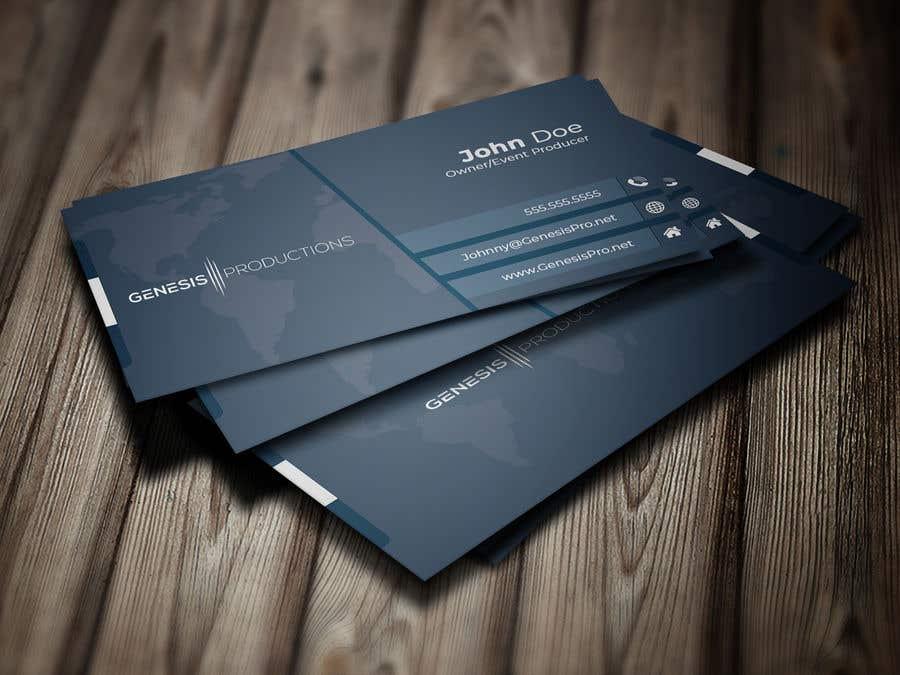 Penyertaan Peraduan #137 untuk Business Card Layout
