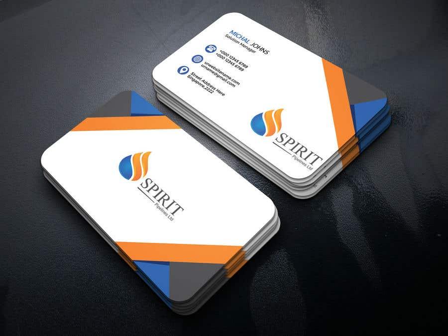 Penyertaan Peraduan #17 untuk Business Card Layout