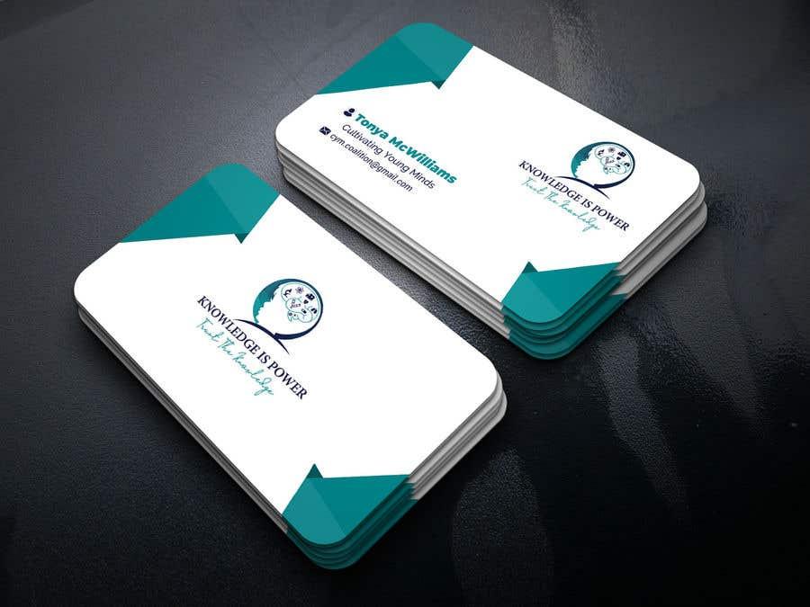 Penyertaan Peraduan #23 untuk Business Card Layout
