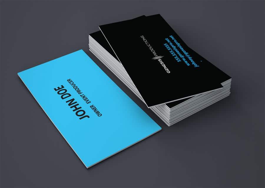 Penyertaan Peraduan #205 untuk Business Card Layout