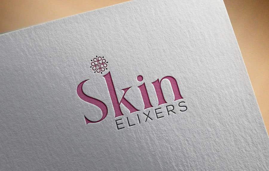 Penyertaan Peraduan #14 untuk I need a logo for a skin care company. The company is called Skin Elixers. Looking for a modern sleek logo.