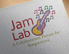 #28 untuk I need an identity / logo designed with a tag line. My picture is a guide and you don't need to use it. Title is 'Jam Lab' and Tagline is 'A Collaboration Forum for Songwriters'. I want something fresh, cool and sleek. oleh ShamunAhmed