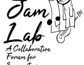 #27 untuk I need an identity / logo designed with a tag line. My picture is a guide and you don't need to use it. Title is 'Jam Lab' and Tagline is 'A Collaboration Forum for Songwriters'. I want something fresh, cool and sleek. oleh Blackdiamond88