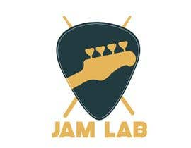 #33 untuk I need an identity / logo designed with a tag line. My picture is a guide and you don't need to use it. Title is 'Jam Lab' and Tagline is 'A Collaboration Forum for Songwriters'. I want something fresh, cool and sleek. oleh neculadaniel