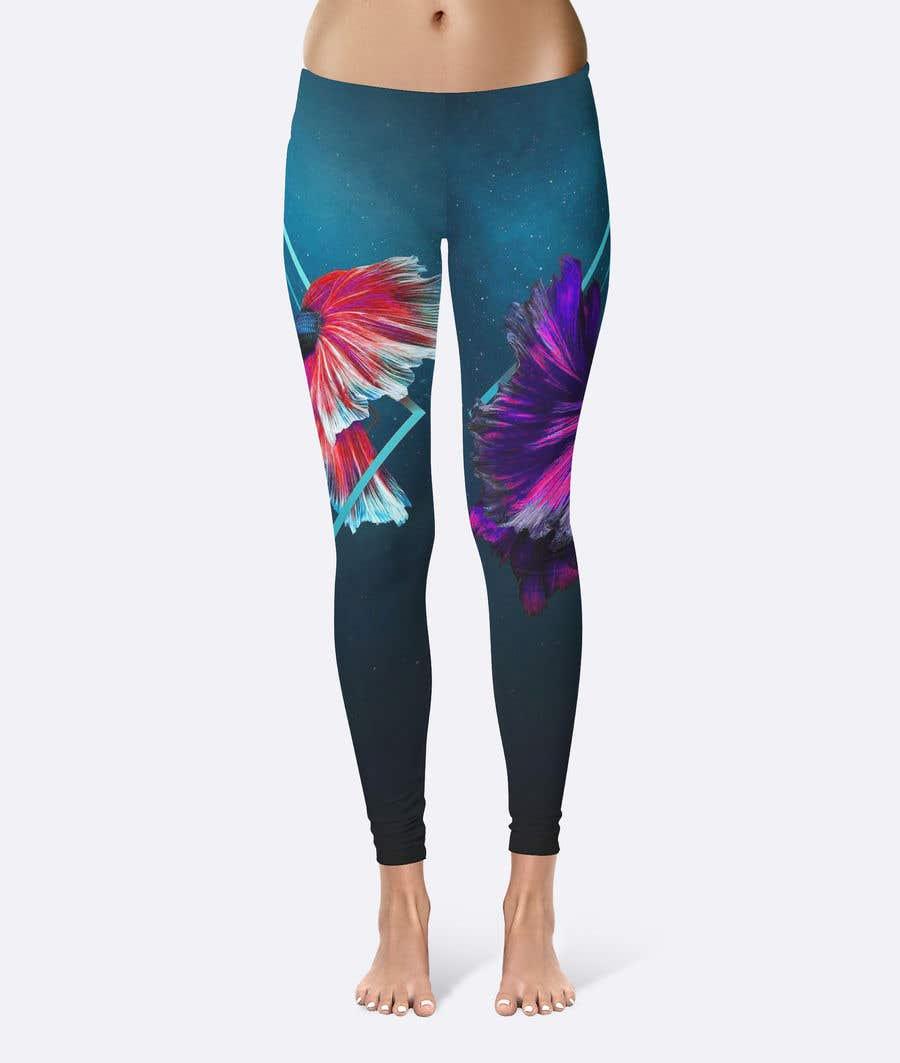 Конкурсная заявка №126 для Design futuristic leggings for sublimation print