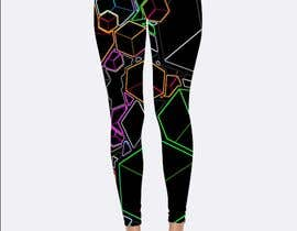 #347 для Design futuristic leggings for sublimation print от salmon5