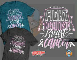 #21 for T shirt design for Breast Cancer fundraiser by GribertJvargas