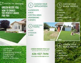 #11 for Needs a brochure for a fake grass company by hossiniqbal54