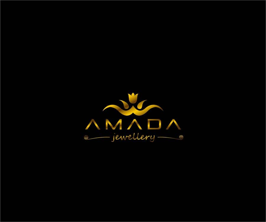 """Konkurrenceindlæg #13 for Logo for a jewelry called """"Amada"""""""
