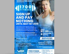 #11 for Announcement flier for fitness center opening by ephdesign13