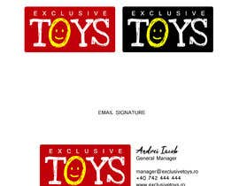 #11 for Design a Logo for a Toy Company & Email Signature af danzali