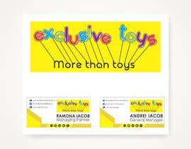 #13 for Design a Logo for a Toy Company & Email Signature af vhersavana