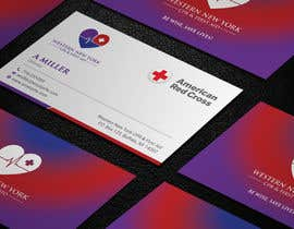 #83 para design double sided business card - WNY CPR por aminur33