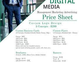 #27 for design digital flyer (((price sheet flyer))) af danykhanpro