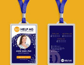 #9 untuk Create artwork for a ID card for our employees oleh mifthaakbie
