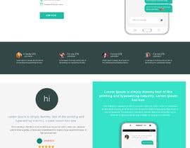 nº 15 pour Design of a landing page for DATING par saidesigner87