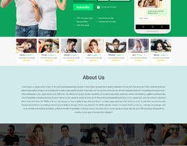 nº 19 pour Design of a landing page for DATING par sneha15112018
