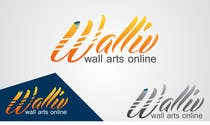Logo Design for wall arts online store için Graphic Design58 No.lu Yarışma Girdisi