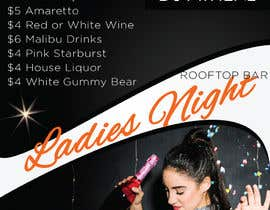nº 17 pour Flyer for Bar Latin Night & Ladies night par sapakolaki