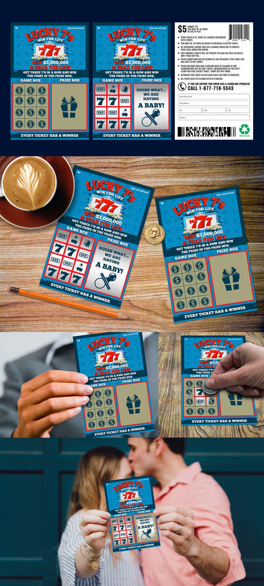 Proposition n°42 du concours Designing a Lotto Ticket