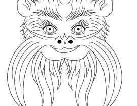 #4 untuk Make Cartoon Drawing of Face Of Tamarin Monkey oleh FerJam410
