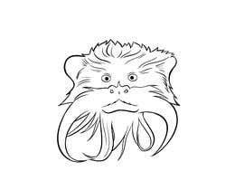 #15 untuk Make Cartoon Drawing of Face Of Tamarin Monkey oleh vijayrai1989