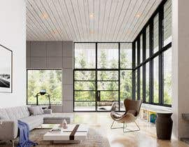 nº 34 pour Blender living room & interior 3D Design par beehive3dworks