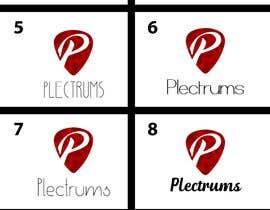 andreschacon218 tarafından I need a logo and cover photo for Facebook for my Plectrums business. için no 76